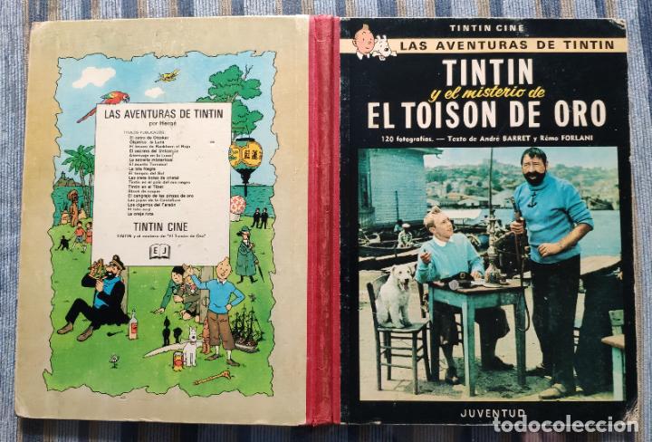 Cómics: TINTIN - LOMO TELA (COMPLETA CON 5 PRIMERAS,16 SEGUNDAS Y 4 TERCERAS EDICIONES)- JUVENTUD AÑOS 60-70 - Foto 5 - 222408535