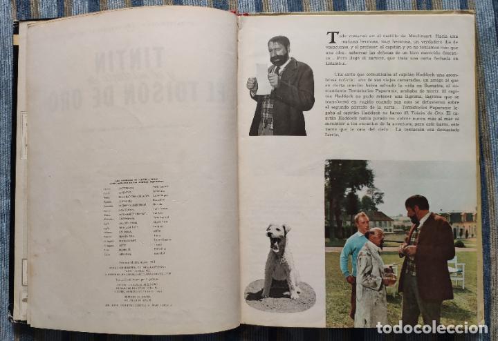 Cómics: TINTIN - LOMO TELA (COMPLETA CON 5 PRIMERAS,16 SEGUNDAS Y 4 TERCERAS EDICIONES)- JUVENTUD AÑOS 60-70 - Foto 6 - 222408535