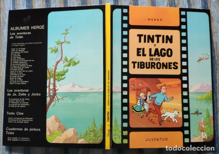 Cómics: TINTIN - LOMO TELA (COMPLETA CON 5 PRIMERAS,16 SEGUNDAS Y 4 TERCERAS EDICIONES)- JUVENTUD AÑOS 60-70 - Foto 7 - 222408535