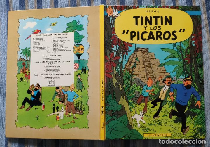 Cómics: TINTIN - LOMO TELA (COMPLETA CON 5 PRIMERAS,16 SEGUNDAS Y 4 TERCERAS EDICIONES)- JUVENTUD AÑOS 60-70 - Foto 9 - 222408535