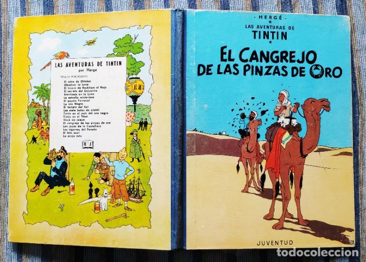 Cómics: TINTIN - LOMO TELA (COMPLETA CON 5 PRIMERAS,16 SEGUNDAS Y 4 TERCERAS EDICIONES)- JUVENTUD AÑOS 60-70 - Foto 11 - 222408535