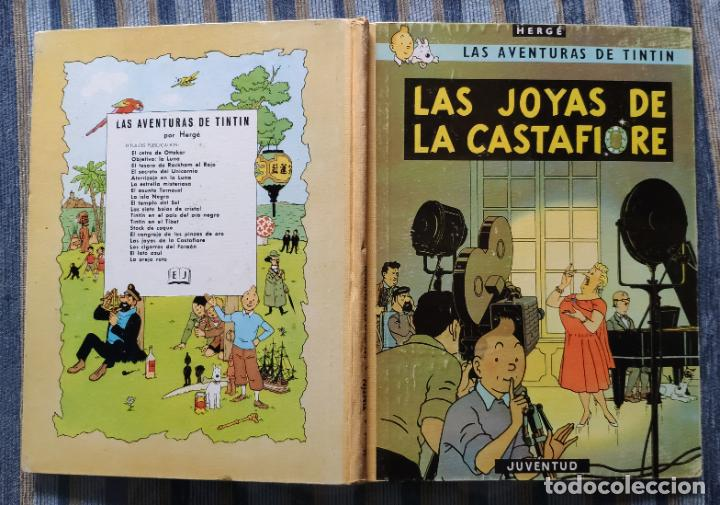 Cómics: TINTIN - LOMO TELA (COMPLETA CON 5 PRIMERAS,16 SEGUNDAS Y 4 TERCERAS EDICIONES)- JUVENTUD AÑOS 60-70 - Foto 13 - 222408535