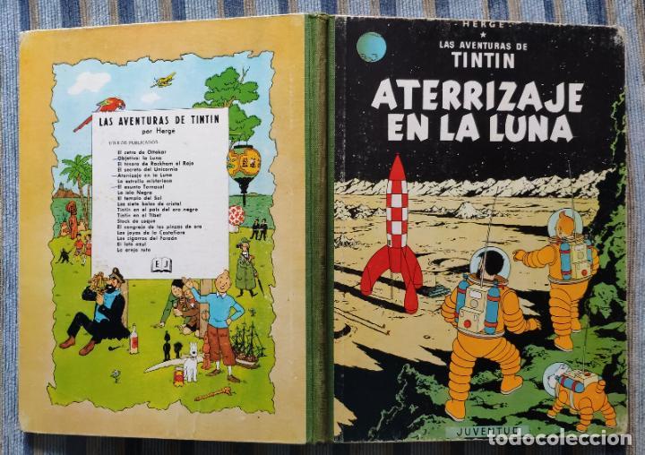 Cómics: TINTIN - LOMO TELA (COMPLETA CON 5 PRIMERAS,16 SEGUNDAS Y 4 TERCERAS EDICIONES)- JUVENTUD AÑOS 60-70 - Foto 15 - 222408535