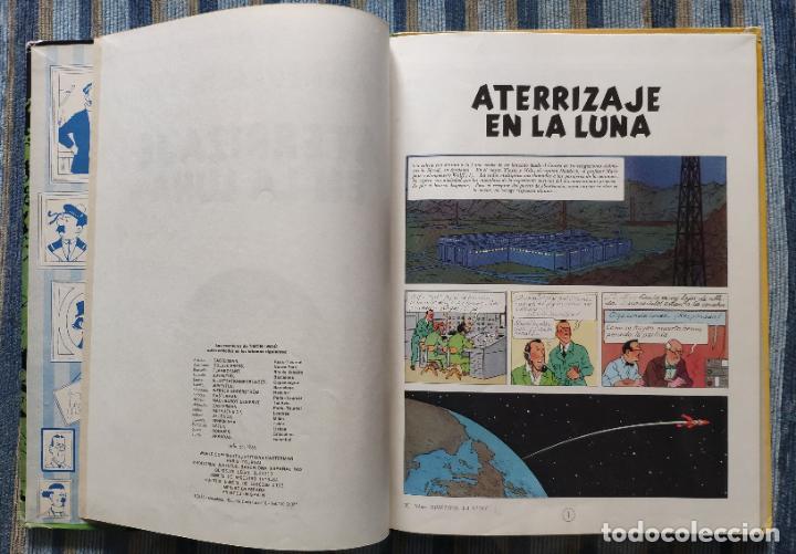 Cómics: TINTIN - LOMO TELA (COMPLETA CON 5 PRIMERAS,16 SEGUNDAS Y 4 TERCERAS EDICIONES)- JUVENTUD AÑOS 60-70 - Foto 16 - 222408535