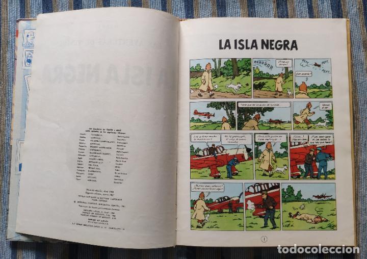 Cómics: TINTIN - LOMO TELA (COMPLETA CON 5 PRIMERAS,16 SEGUNDAS Y 4 TERCERAS EDICIONES)- JUVENTUD AÑOS 60-70 - Foto 18 - 222408535