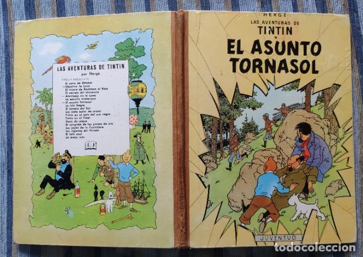 Cómics: TINTIN - LOMO TELA (COMPLETA CON 5 PRIMERAS,16 SEGUNDAS Y 4 TERCERAS EDICIONES)- JUVENTUD AÑOS 60-70 - Foto 19 - 222408535