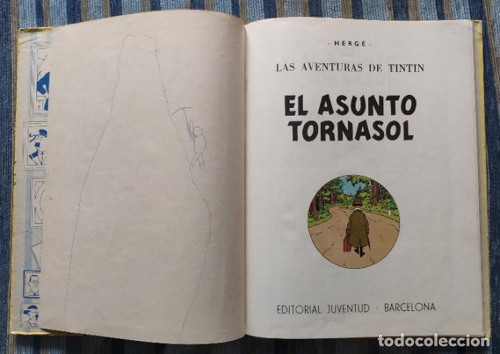 Cómics: TINTIN - LOMO TELA (COMPLETA CON 5 PRIMERAS,16 SEGUNDAS Y 4 TERCERAS EDICIONES)- JUVENTUD AÑOS 60-70 - Foto 20 - 222408535