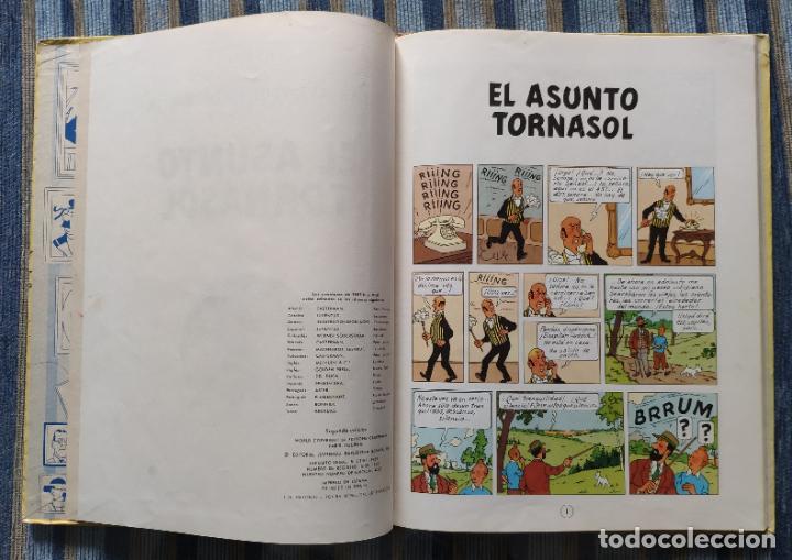 Cómics: TINTIN - LOMO TELA (COMPLETA CON 5 PRIMERAS,16 SEGUNDAS Y 4 TERCERAS EDICIONES)- JUVENTUD AÑOS 60-70 - Foto 21 - 222408535