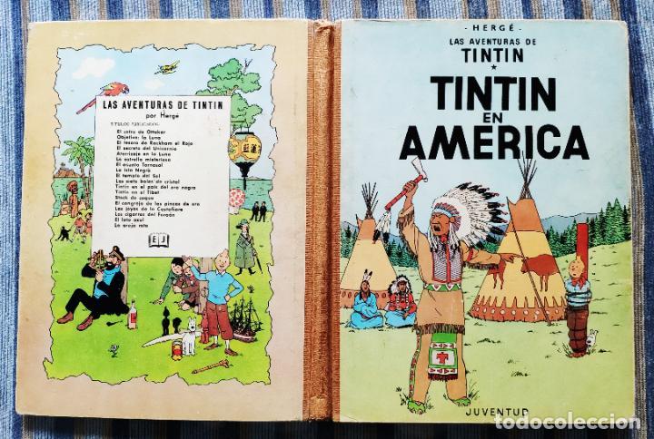 Cómics: TINTIN - LOMO TELA (COMPLETA CON 5 PRIMERAS,16 SEGUNDAS Y 4 TERCERAS EDICIONES)- JUVENTUD AÑOS 60-70 - Foto 22 - 222408535
