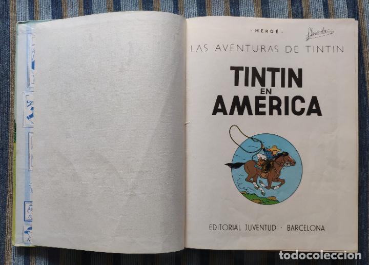 Cómics: TINTIN - LOMO TELA (COMPLETA CON 5 PRIMERAS,16 SEGUNDAS Y 4 TERCERAS EDICIONES)- JUVENTUD AÑOS 60-70 - Foto 23 - 222408535