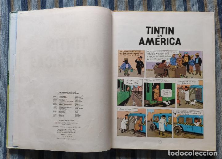 Cómics: TINTIN - LOMO TELA (COMPLETA CON 5 PRIMERAS,16 SEGUNDAS Y 4 TERCERAS EDICIONES)- JUVENTUD AÑOS 60-70 - Foto 24 - 222408535