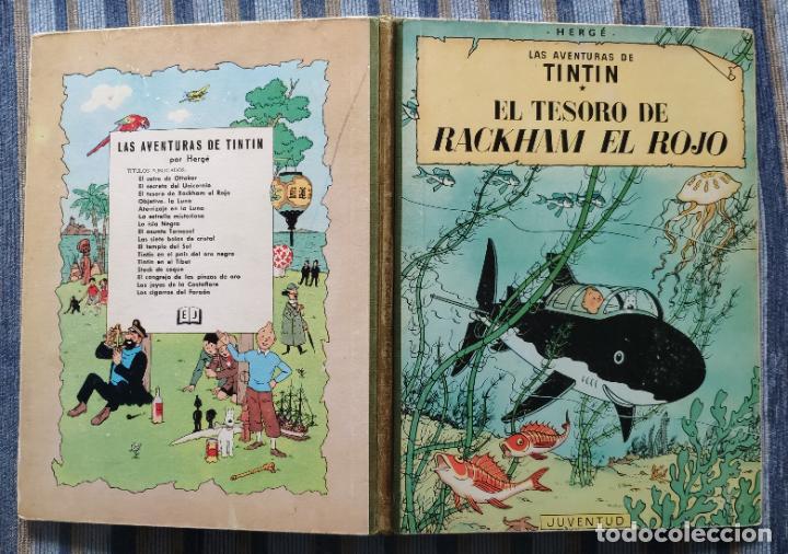 Cómics: TINTIN - LOMO TELA (COMPLETA CON 5 PRIMERAS,16 SEGUNDAS Y 4 TERCERAS EDICIONES)- JUVENTUD AÑOS 60-70 - Foto 25 - 222408535