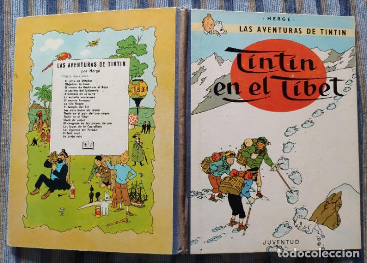 Cómics: TINTIN - LOMO TELA (COMPLETA CON 5 PRIMERAS,16 SEGUNDAS Y 4 TERCERAS EDICIONES)- JUVENTUD AÑOS 60-70 - Foto 27 - 222408535