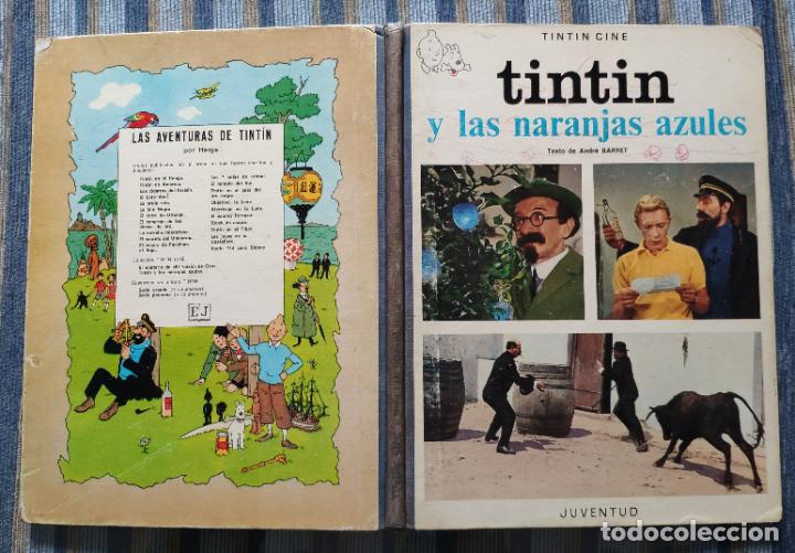 Cómics: TINTIN - LOMO TELA (COMPLETA CON 5 PRIMERAS,16 SEGUNDAS Y 4 TERCERAS EDICIONES)- JUVENTUD AÑOS 60-70 - Foto 29 - 222408535