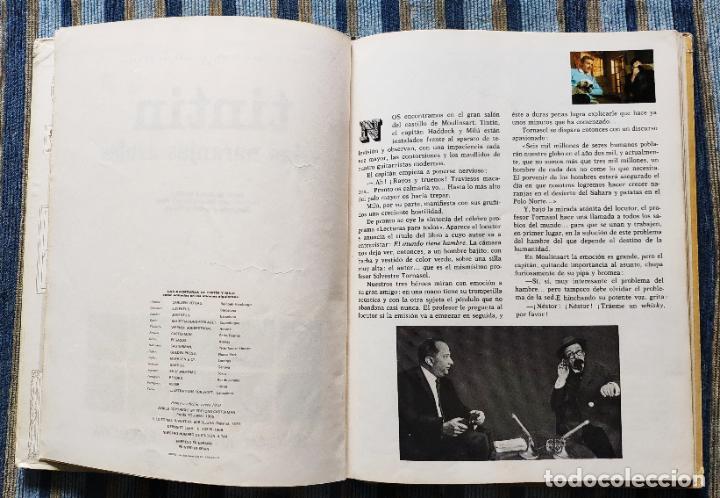 Cómics: TINTIN - LOMO TELA (COMPLETA CON 5 PRIMERAS,16 SEGUNDAS Y 4 TERCERAS EDICIONES)- JUVENTUD AÑOS 60-70 - Foto 30 - 222408535
