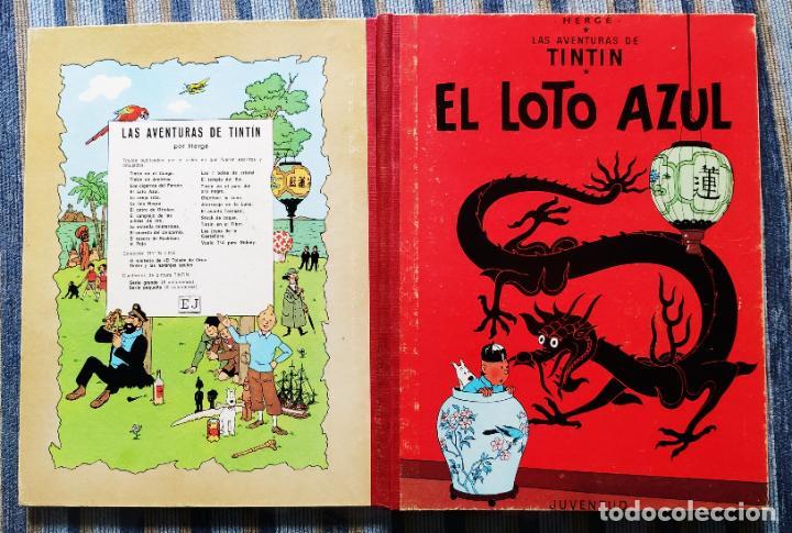 Cómics: TINTIN - LOMO TELA (COMPLETA CON 5 PRIMERAS,16 SEGUNDAS Y 4 TERCERAS EDICIONES)- JUVENTUD AÑOS 60-70 - Foto 33 - 222408535