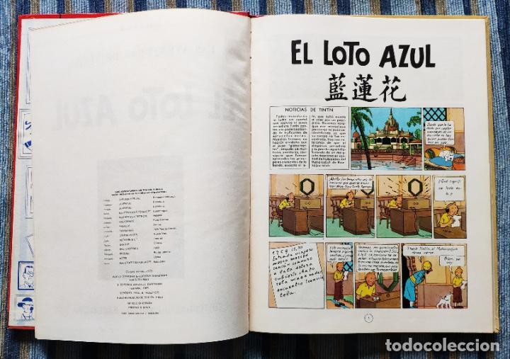 Cómics: TINTIN - LOMO TELA (COMPLETA CON 5 PRIMERAS,16 SEGUNDAS Y 4 TERCERAS EDICIONES)- JUVENTUD AÑOS 60-70 - Foto 34 - 222408535