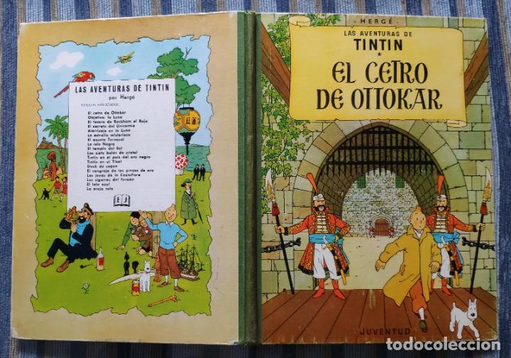 Cómics: TINTIN - LOMO TELA (COMPLETA CON 5 PRIMERAS,16 SEGUNDAS Y 4 TERCERAS EDICIONES)- JUVENTUD AÑOS 60-70 - Foto 35 - 222408535