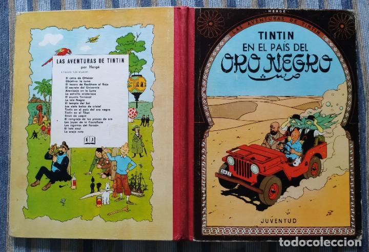 Cómics: TINTIN - LOMO TELA (COMPLETA CON 5 PRIMERAS,16 SEGUNDAS Y 4 TERCERAS EDICIONES)- JUVENTUD AÑOS 60-70 - Foto 37 - 222408535