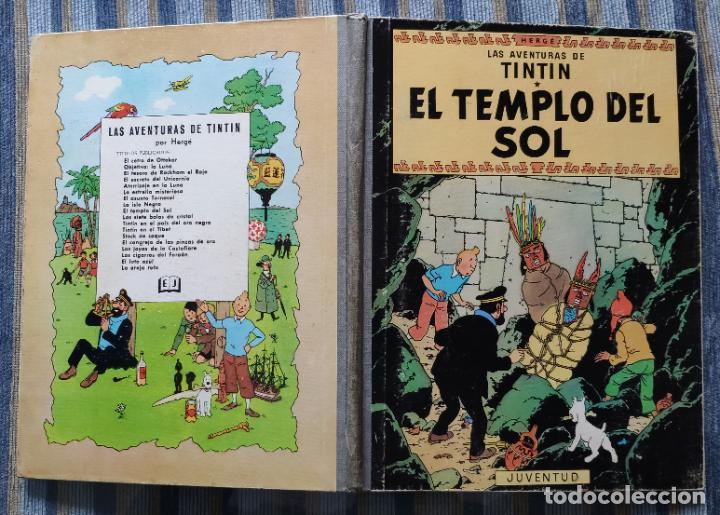 Cómics: TINTIN - LOMO TELA (COMPLETA CON 5 PRIMERAS,16 SEGUNDAS Y 4 TERCERAS EDICIONES)- JUVENTUD AÑOS 60-70 - Foto 39 - 222408535