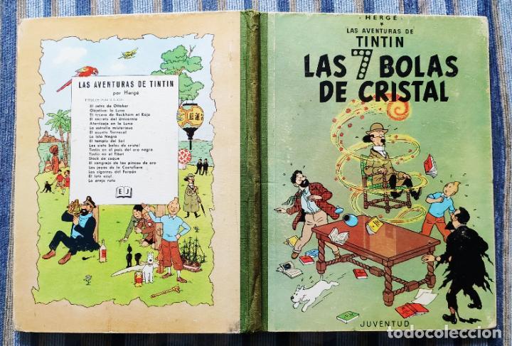Cómics: TINTIN - LOMO TELA (COMPLETA CON 5 PRIMERAS,16 SEGUNDAS Y 4 TERCERAS EDICIONES)- JUVENTUD AÑOS 60-70 - Foto 45 - 222408535