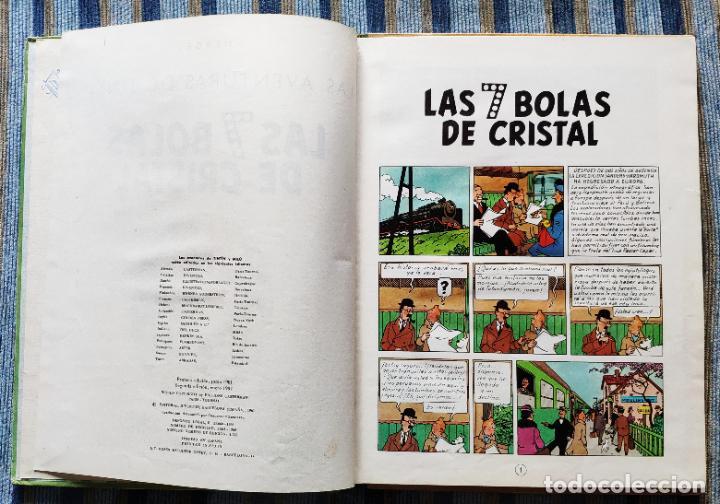 Cómics: TINTIN - LOMO TELA (COMPLETA CON 5 PRIMERAS,16 SEGUNDAS Y 4 TERCERAS EDICIONES)- JUVENTUD AÑOS 60-70 - Foto 46 - 222408535