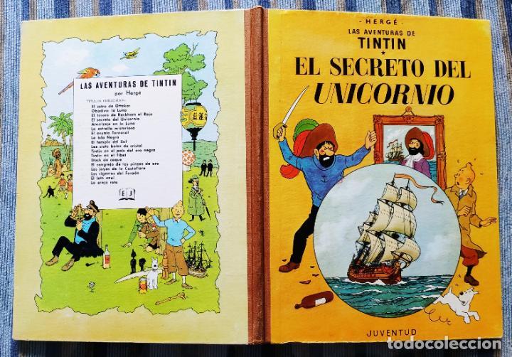 Cómics: TINTIN - LOMO TELA (COMPLETA CON 5 PRIMERAS,16 SEGUNDAS Y 4 TERCERAS EDICIONES)- JUVENTUD AÑOS 60-70 - Foto 47 - 222408535