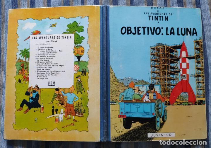 Cómics: TINTIN - LOMO TELA (COMPLETA CON 5 PRIMERAS,16 SEGUNDAS Y 4 TERCERAS EDICIONES)- JUVENTUD AÑOS 60-70 - Foto 49 - 222408535