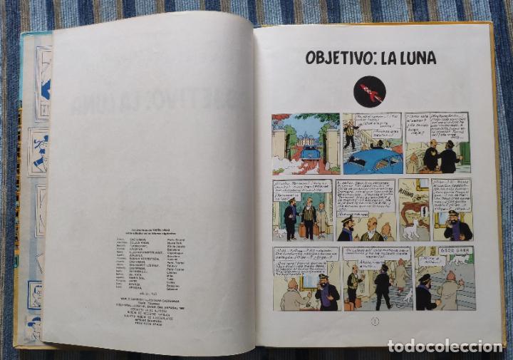 Cómics: TINTIN - LOMO TELA (COMPLETA CON 5 PRIMERAS,16 SEGUNDAS Y 4 TERCERAS EDICIONES)- JUVENTUD AÑOS 60-70 - Foto 50 - 222408535