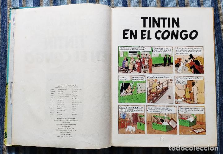 Cómics: TINTIN - LOMO TELA (COMPLETA CON 5 PRIMERAS,16 SEGUNDAS Y 4 TERCERAS EDICIONES)- JUVENTUD AÑOS 60-70 - Foto 52 - 222408535
