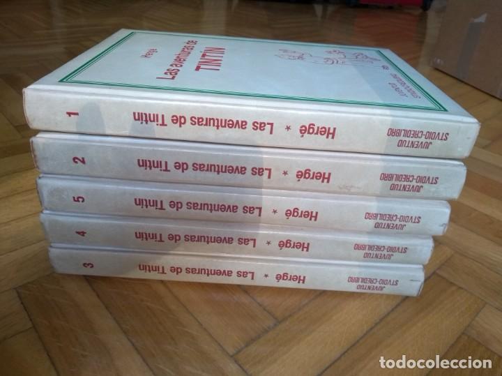 Cómics: Las Aventuras de Tintín completa en 5 tomos - Credilibro - Foto 2 - 222414903