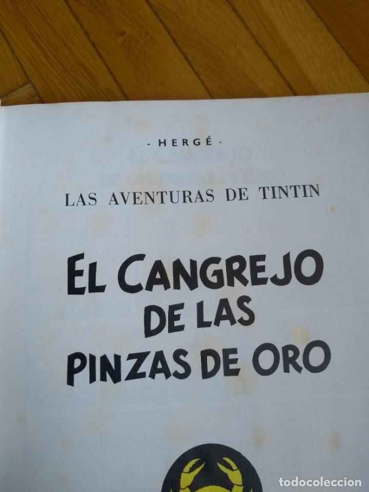 Cómics: Las Aventuras de Tintín completa en 5 tomos - Credilibro - Foto 13 - 222414903