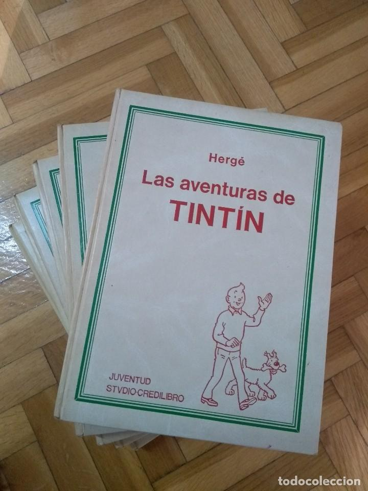 LAS AVENTURAS DE TINTÍN COMPLETA EN 5 TOMOS - CREDILIBRO (Tebeos y Comics - Juventud - Tintín)