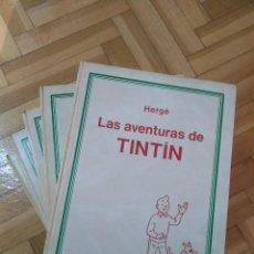 Cómics: TINTÍN COMPLETA EN 5 TOMOS - GUAFLEX / TAPA DURA - INCLUYE NARANJAS AZULES Y EL TOISÓN DE ORO - D4. Lote 262344660