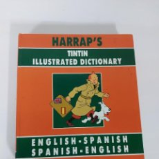 Cómics: HARRAP´S TINTIN ILUSTRATED DICTIONARY. Lote 222427646