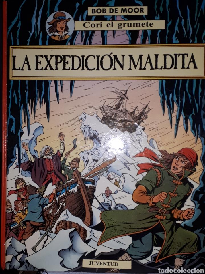 LA EXPEDICIÓN MALDITA CORI EL GRUMETE BOB DE MOOR (Tebeos y Comics - Juventud - Cori el Grumete)