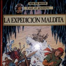 Cómics: LA EXPEDICIÓN MALDITA CORI EL GRUMETE BOB DE MOOR. Lote 222471620