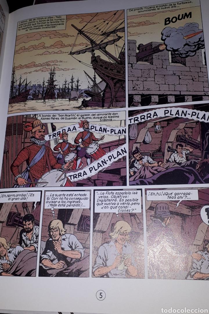 Cómics: LA ARMADA INVENCIBLE VOLUMEN 2 EL DRAGÓN DE LOS MARES CORI EL GRUMETE BOB DE MOOR - Foto 2 - 222472728