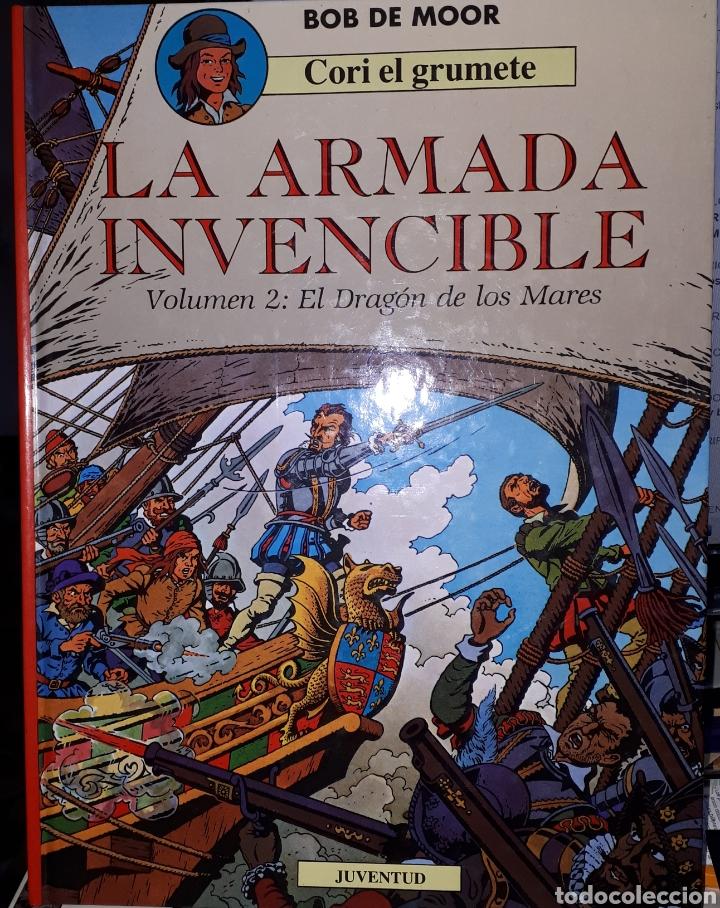 LA ARMADA INVENCIBLE VOLUMEN 2 EL DRAGÓN DE LOS MARES CORI EL GRUMETE BOB DE MOOR (Tebeos y Comics - Juventud - Cori el Grumete)