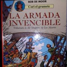 Cómics: LA ARMADA INVENCIBLE VOLUMEN 2 EL DRAGÓN DE LOS MARES CORI EL GRUMETE BOB DE MOOR. Lote 222472728