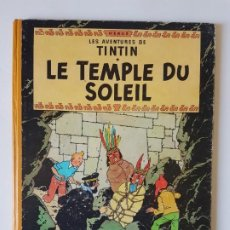 Cómics: LES AVENTURES DE TINTIN - LE TEMPLE DU SOLEIL - (B12) 1955 REPRINT. Lote 222533497