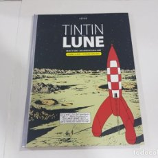 Cómics: LIBRO TINTÍN ET LA LUNA , DOBLE ÁLBUM + 16 PAGES D'ARCHIVES. Lote 222533626