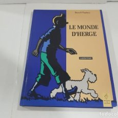 Cómics: LIBRO LE MONDE DE HERGÉ (FRANCÉS). Lote 222534561