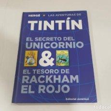 Cómics: LIBRO DOBLE SECRETO UNICORNIO - TESORO RACKHAM EL ROJO. Lote 222545797