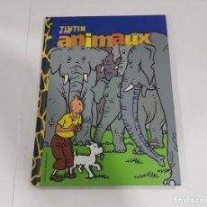 Cómics: LIBRO TINTIN & LES ANIMAUX. Lote 222552596