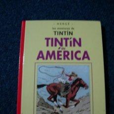 Cómics: TINTIN EN AMERICA - CASTERMAN FACSIMIL 2003 - DESCATALOGADO. Lote 222615357
