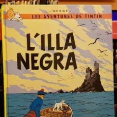 Cómics: LES AVENTURES DE TINTIN - L´ILLA NEGRA - EN CATALÀ. Lote 222617808
