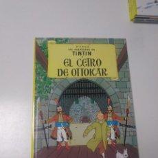 Comics : TINTÍN EL CETRO DE OTOKAR TAPA DURA EDITORIAL JUVENTUD 2005 EDICIÓN 24. Lote 222703397