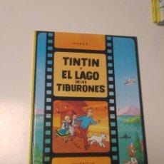 Comics : TINTÍN Y EL LAGO DE LOS TIBURONES TAPA DURA EDITORIAL JUVENTUD 2005 EDICIÓN 18. Lote 222704317