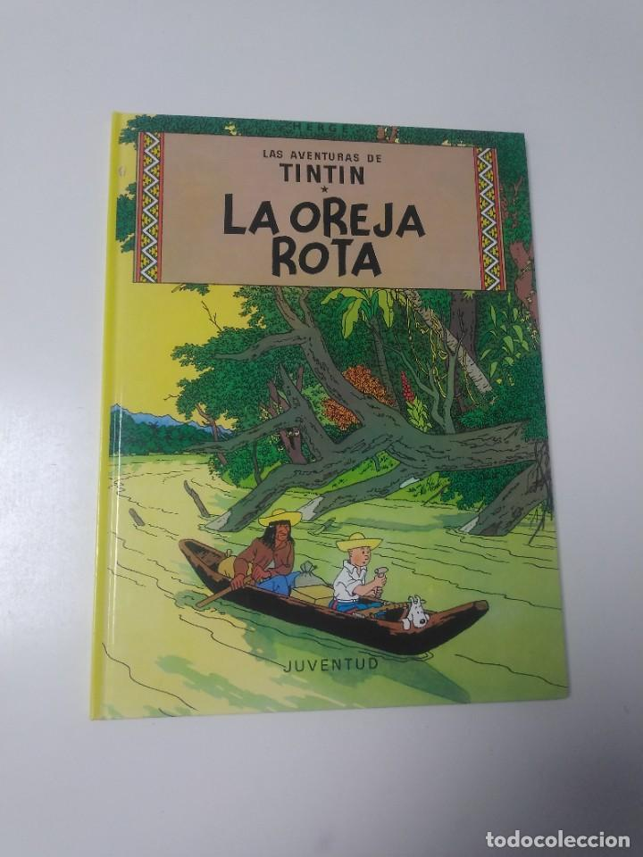 TINTÍN LA OREJA ROTA TAPA DURA EDITORIAL JUVENTUD 2002 EDICIÓN 19 (Tebeos y Comics - Juventud - Tintín)